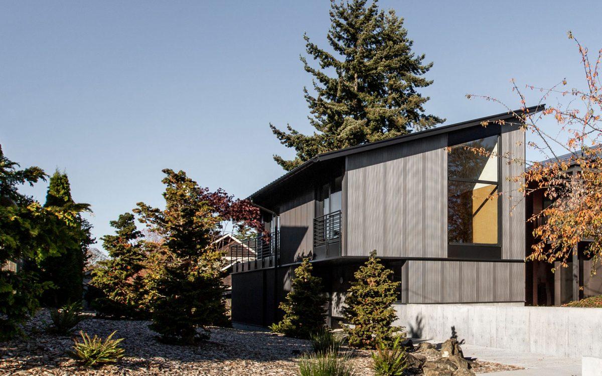 Этот компактный дом в Сиэтле выполнен в японском стиле сибуй