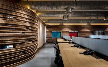 Картонный офис от архитектурной студии VDGA