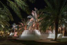Самая крупная инсталляция из песка была напечатана на 3D-принтере в Саудовской Аравии