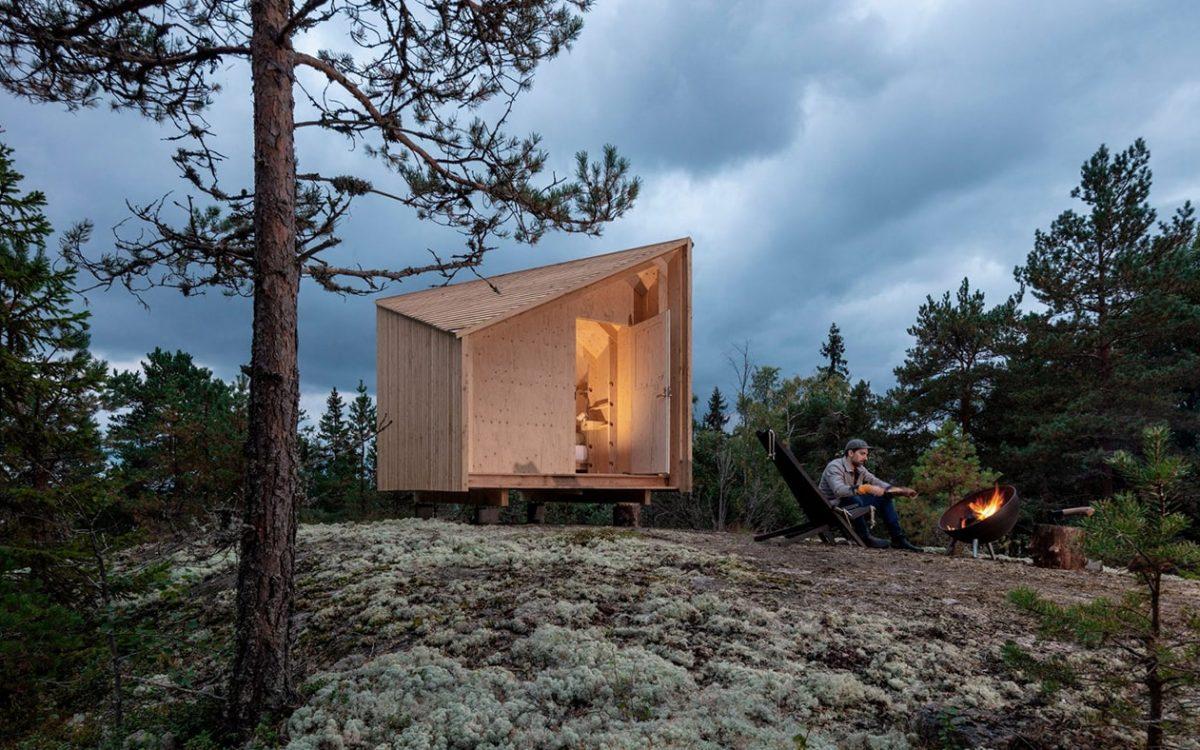 Space of Mind – модульный домик, который можно установить где угодно