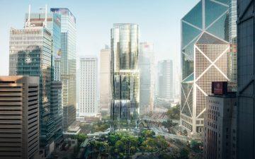 Небоскреб в форме орхидеи скоро «расцветет» в Гонконге