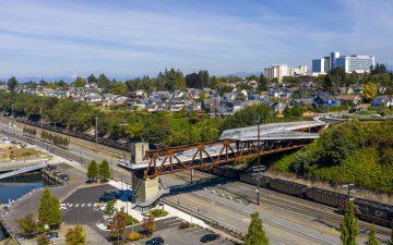В Вашингтоне открылся красивый кружевной мост
