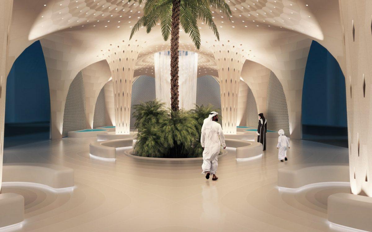 Модульный оазис, напечатанный на 3D-принтере, сохранит естественную прохладу в Абу-Даби