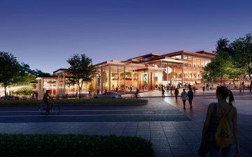 BIG построит студенческий центр The Village для университета Джона Хопкинса