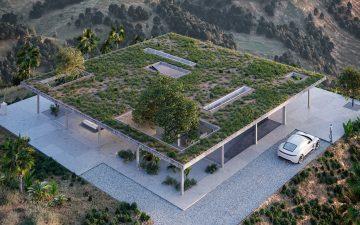 Марк Торп представил проект дома для коллекционера из Лос-Анджелеса