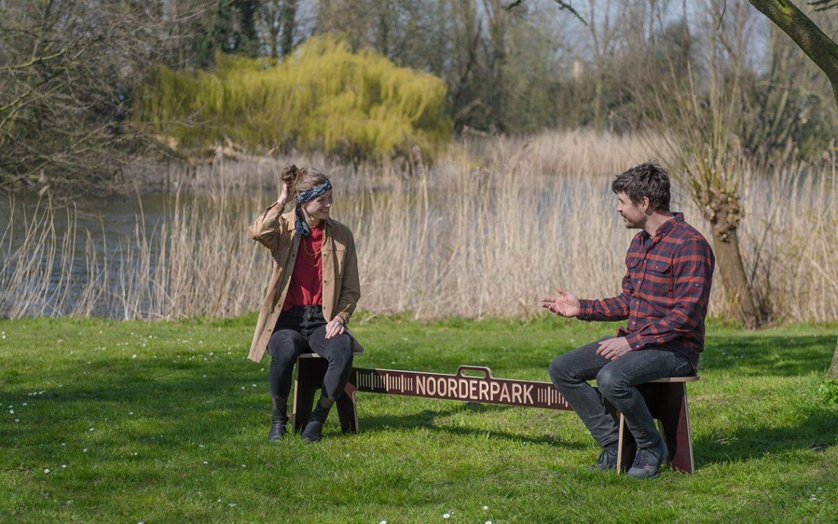 Object Studio предлагает для жителей Амстердама портативную скамейку для социальной дистанции