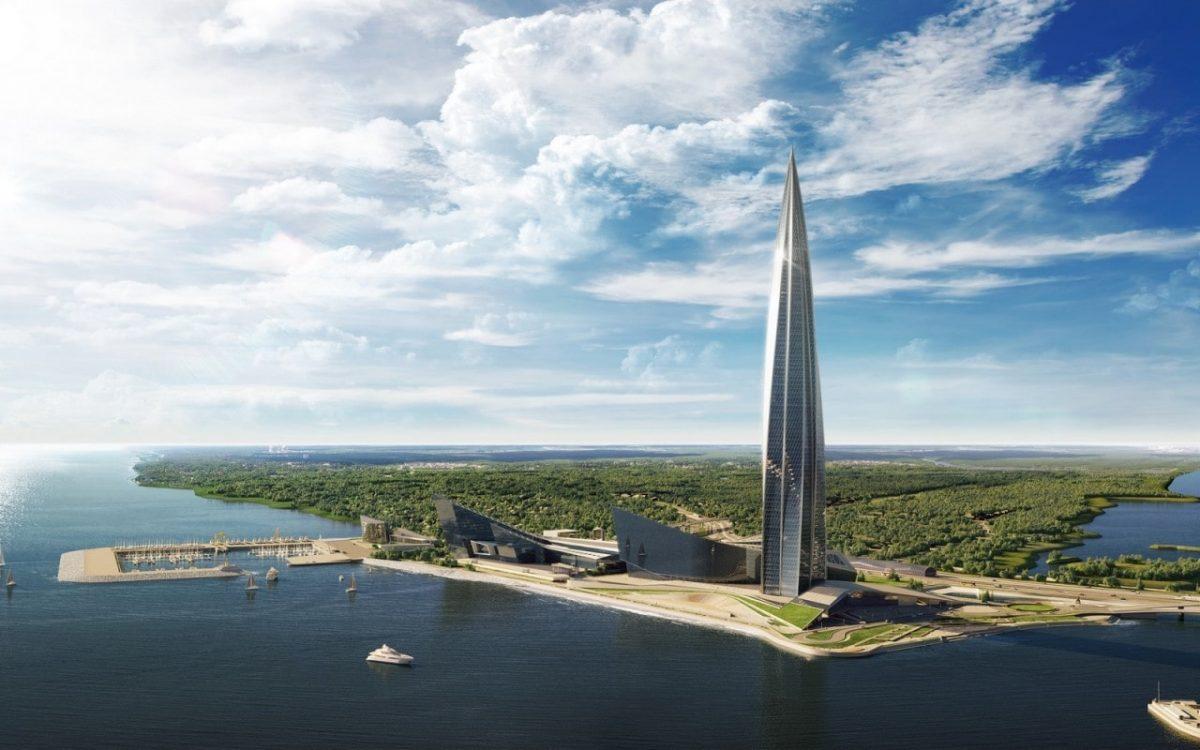 Массивный Лахта-Центр назван небоскребом года