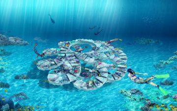 В Майами появится грандиозный подводный парк с рифом и лестницей для любителей сноркелинга