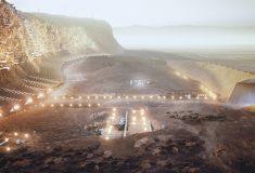 Nüwa: проект самодостаточного города на Марсе