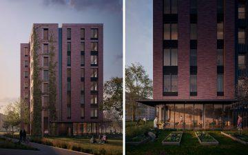 Tallhouse: адаптируемый типовой проект из дерева для городского жилья