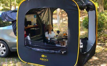 Раскладная палатка CARSULE – для отдыха и путешествий
