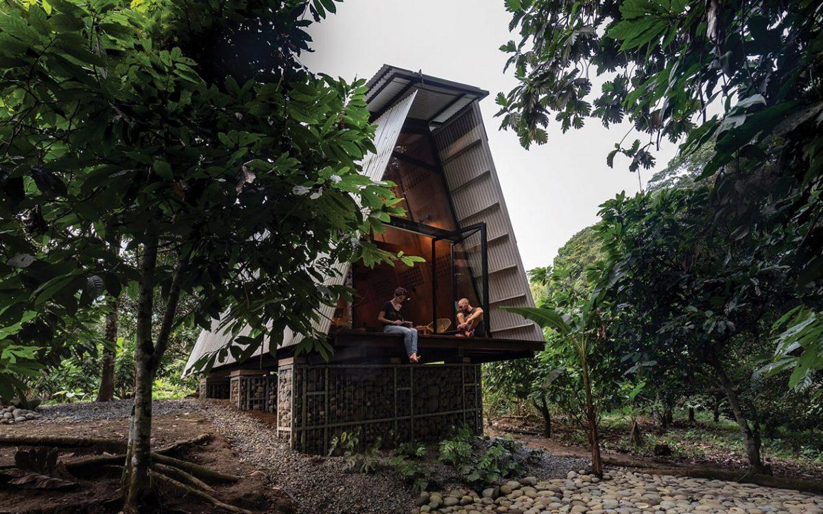 Сборный домик на дереве полностью пригоден для вторичной переработки