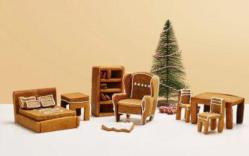 IKEA выпустила комплект Gingerbread Höme для меблировки пряничного домика