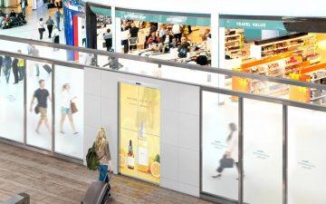 Прозрачные OLED-дисплеи от LG будут использоваться в автоматических раздвижных дверях