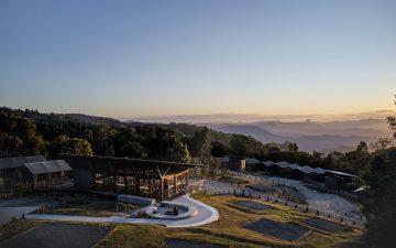 В Квинсленде открылся эко-глэмпинг с легкими «зелеными» домиками