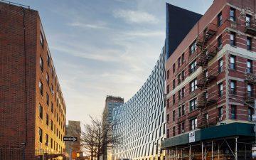 Smile: новый небоскреб с «шахматным» фасадом в Нью-Йорке