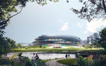 В Шэньчжэне строится еще один энергоэффективный музей