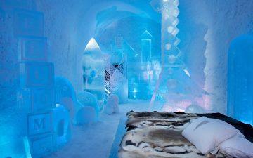 В Швеции ледовый отель в очередной 31-й раз открыл свои двери