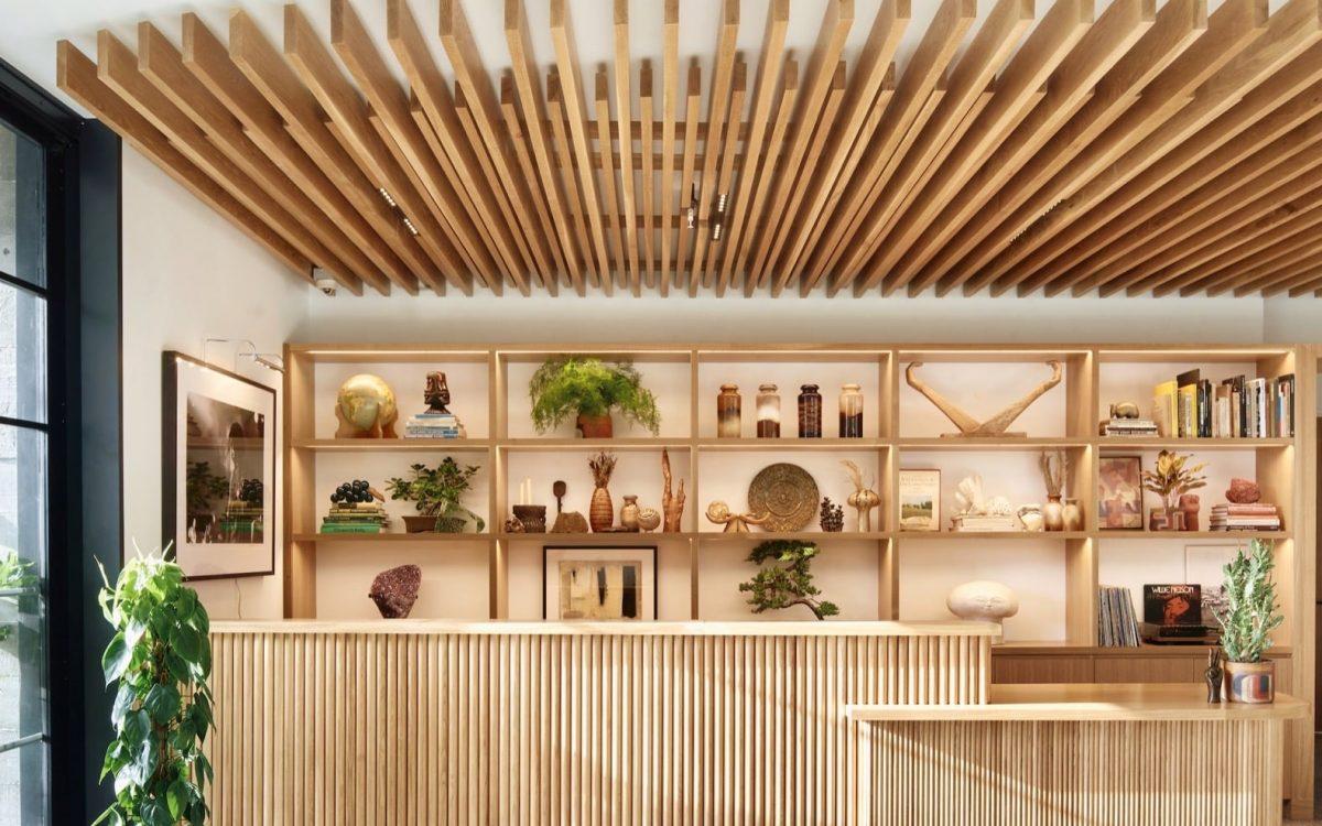В Остине открылся первый отель полностью из дерева