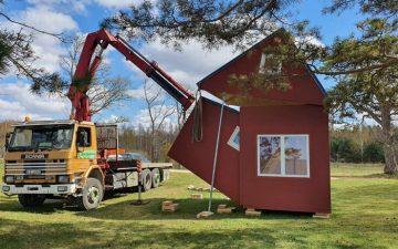 «Brette Haus»: крошечный сборный дом, который можно установить всего за три часа