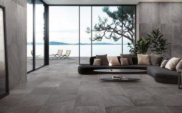 Ceramiche Refin выпускает керамогранит с добавлением натурального камня и песка