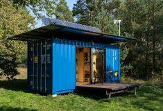 Автономный дом на базе контейнера: крошечный по размеру и стоимости