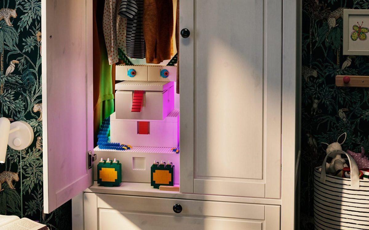 IKEA и Lego выпустили ящики для хранения Bygglek, которые можно использовать как игрушки