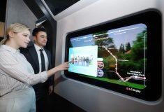 LG предлагает свои прозрачные OLED-дисплеи для повседневного использования