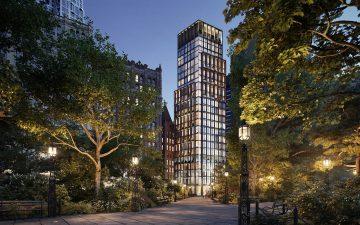 No 33 Park Row: многоквартирный дом с роскошными квартирами в центре Манхэттена