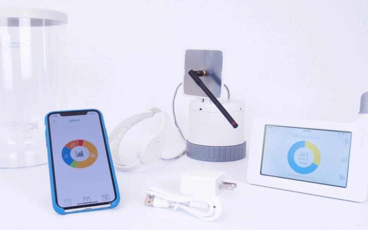 Pleco: умные часы, которые следят за использованием воды в доме