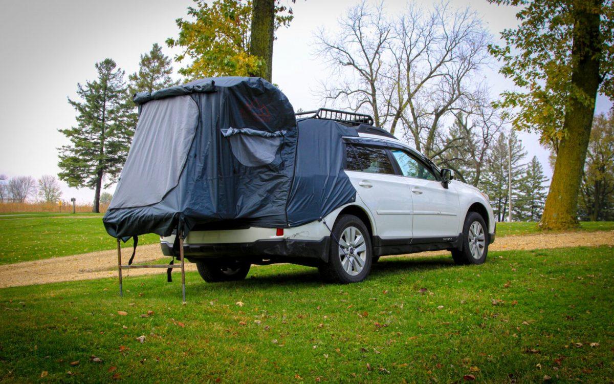 Post Up: уютное спальное место для внедорожника