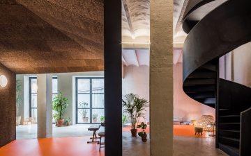 Энрике Херес и Бланка Леаль превратили старый гараж в музыкальную школу