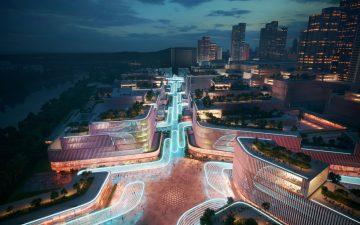 ZHA превратит портовую зону в Шэньчжэне в гигантский научно-технический узел