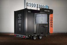 Walkingboxes: экологичный передвижной киоск для фастфуда из транспортного контейнера