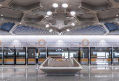 В Чэнду будут построены «футуристические» станции для первой полностью автоматизированной линии метро