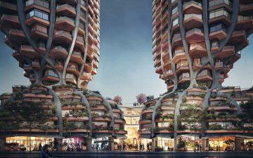 Heatherwick Studio представила проект «фигуристых» башен для Ванкувера
