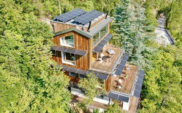 La Forestale: роскошный эко-лодж на фоне итальянского пейзажа