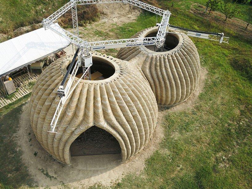 В Италии завершается создание 3D-печатного дома из перерабатываемых материалов