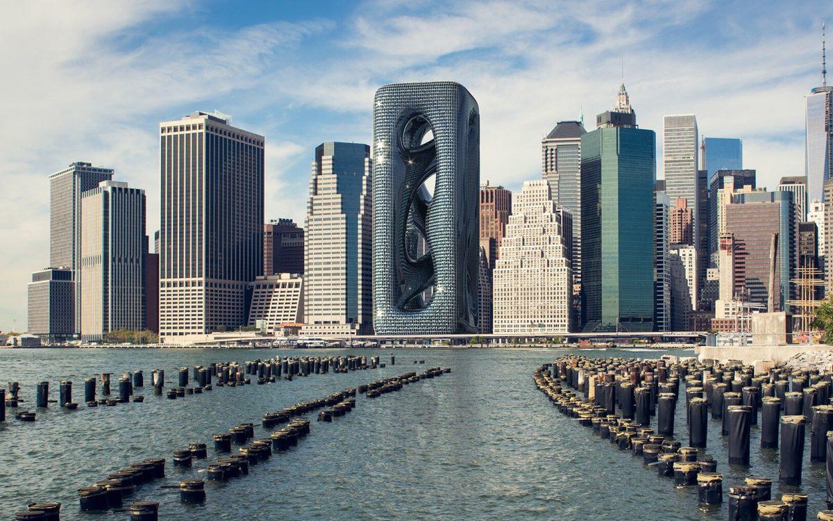 Sarcostyle Tower - концепт необычного небоскреба для Нью-Йорка
