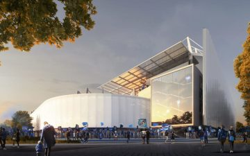 Фасад из фюзеляжей самолетов станет главной «фишкой» футбольного стадиона во Франции