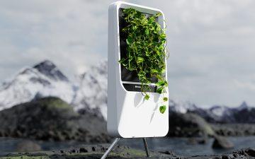 Respira – «умный» гидропонный сад, очищающий воздух