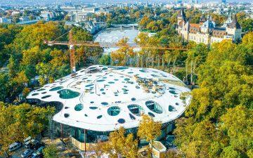 В Будапеште скоро откроется необычный Дом венгерской музыки от Соу Фудзимото