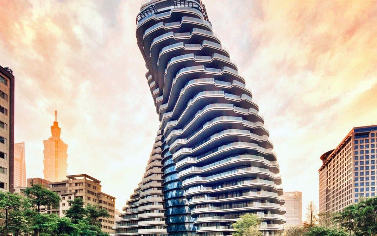 Проект потрясающей башни Vincent Callebaut близится к завершению