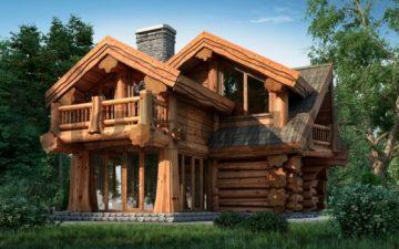 Дом из кедра: невероятная эстетика и надежность на многие годы