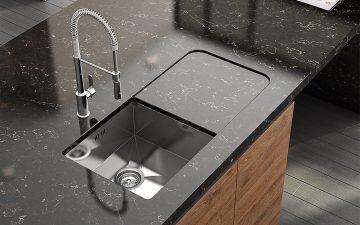 Столешницы из искусственного кварца АТЕМ: украшение любой кухни