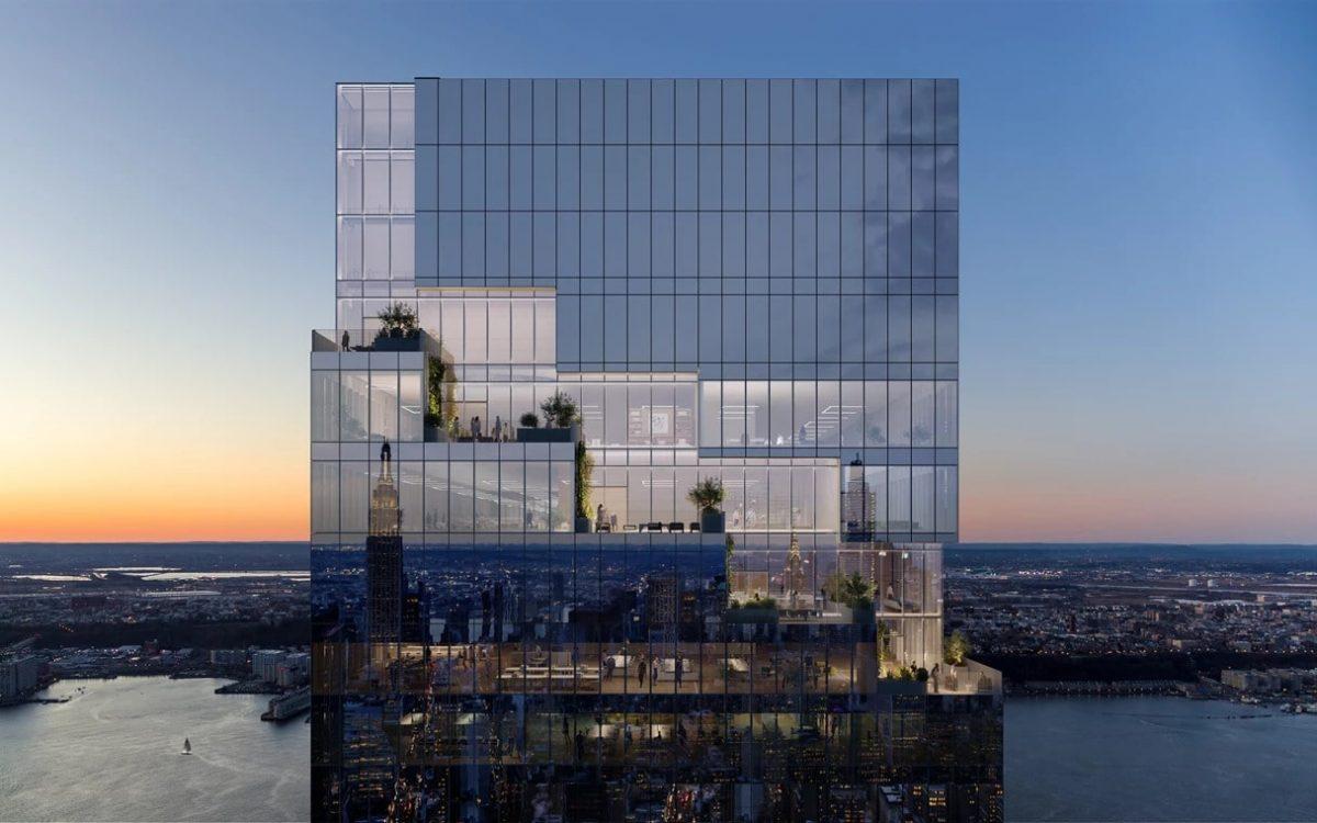 На Манхэттене появился новый небоскреб со ступенчатыми зелеными террасами