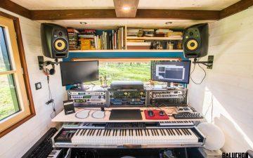 Rhapsodie: новый мини-дом на колесах со встроенной музыкальной студией