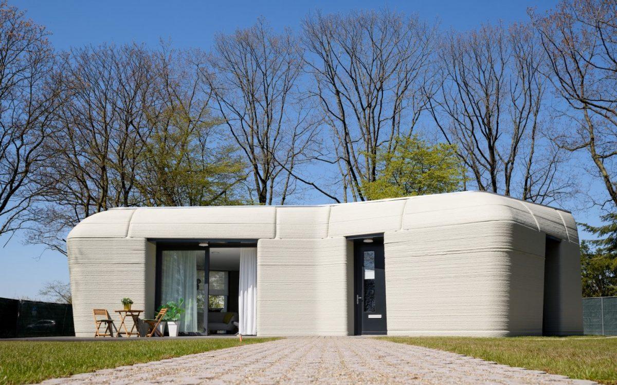 В Эйндховене построили первый в Нидерландах 3D-печатный дом