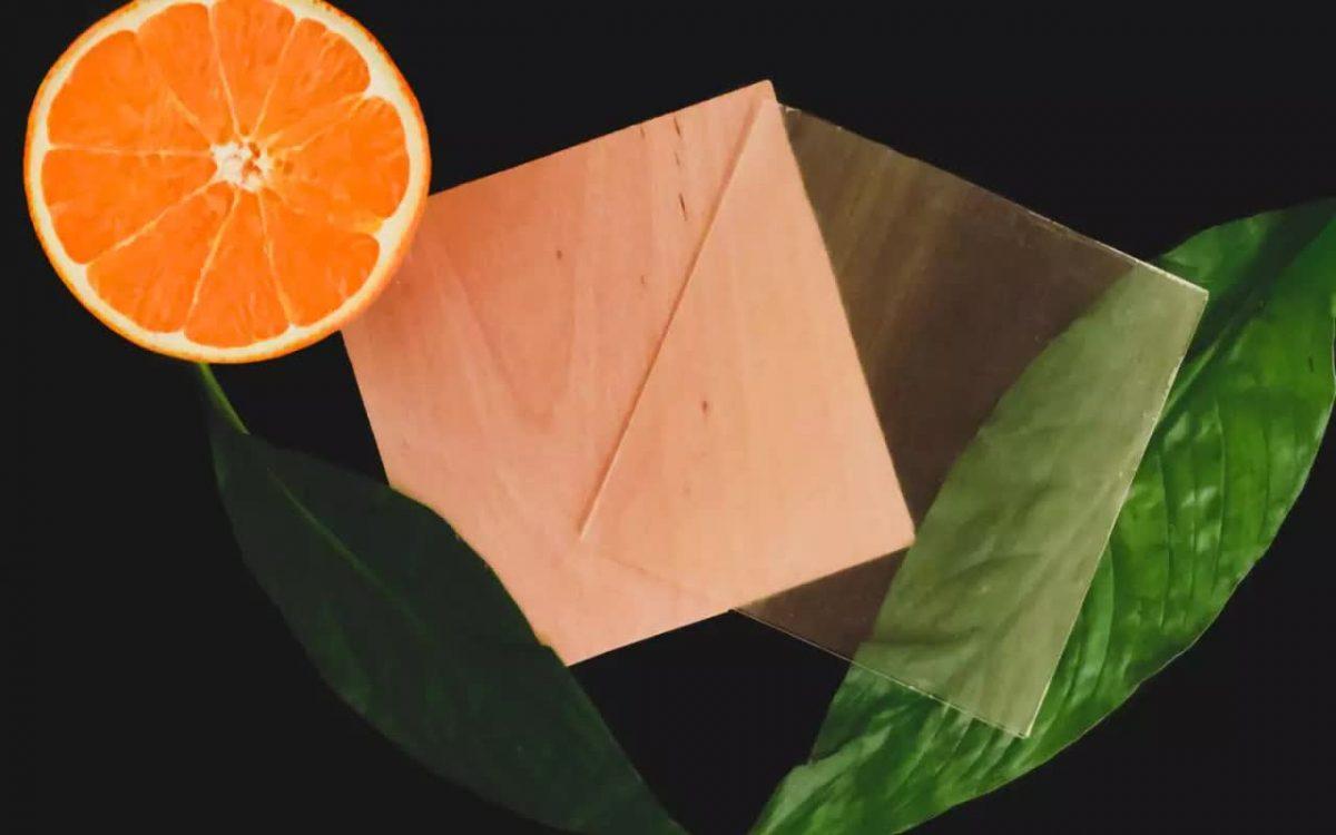Прозрачная древесина с экстрактом апельсиновой корки: экологичный материал для строительства