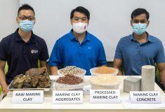 Рецепт экологичного бетона, в котором песок заменен активированной глиной